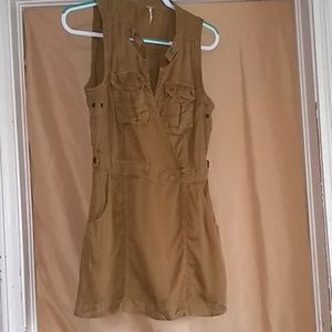 Free People Wrap Knee length dress Size S